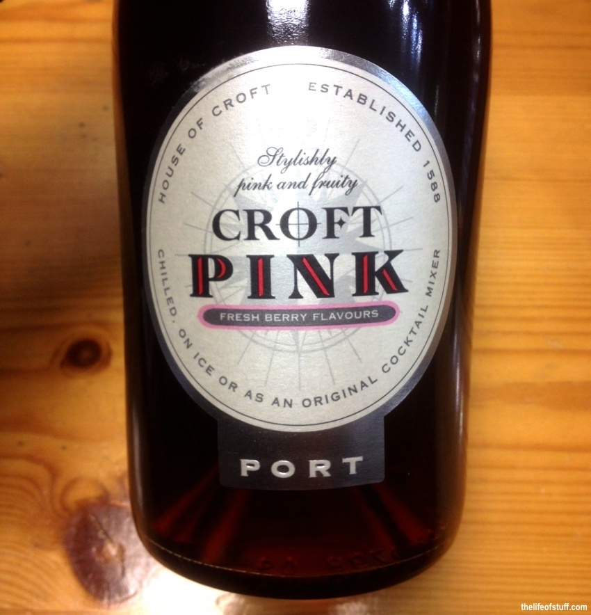 Bevvy of the Week - The First Pink Port, Croft Pink Port