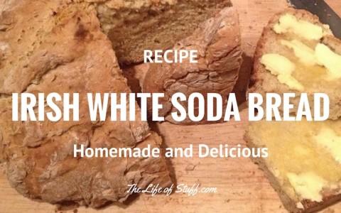 A Homemade Irish White Soda Bread Recipe - Just Like Granny Used to Make ... Well Nearly!