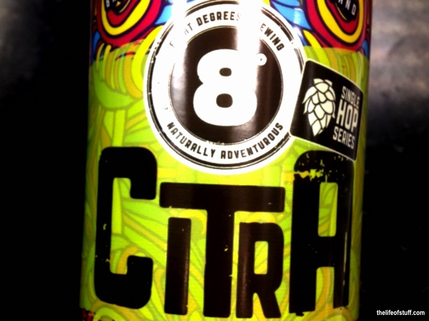 Bevvy of the Week - Eight Degree Brewing, Citra Hop IPA