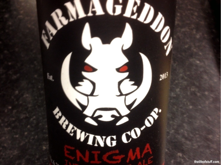 Bevvy of the Week - Farmageddon Brewing Co-Op - Enigma India Pale Ale