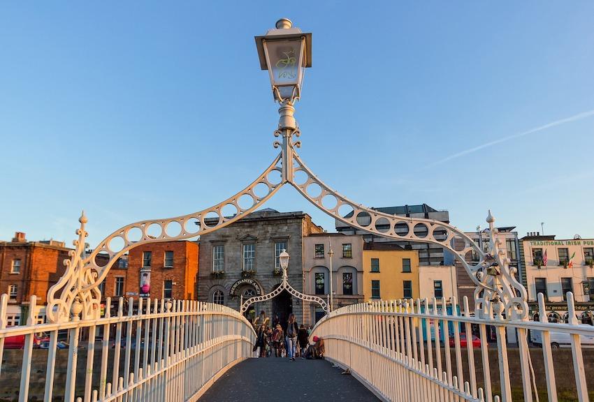 Five Fabulous Reasons to go Shopping in Dublin City - Ha'penny Bridge