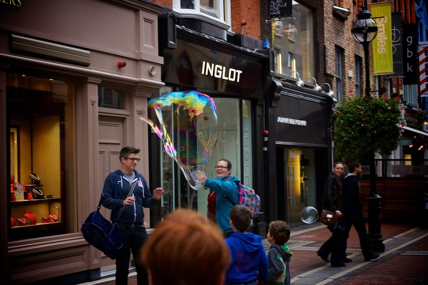 Five Fabulous Reasons to go Shopping in Dublin City - South Anne Street