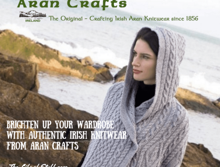 Brighten Up Your Wardrobe with Authentic Irish Knitwear from Aran Crafts
