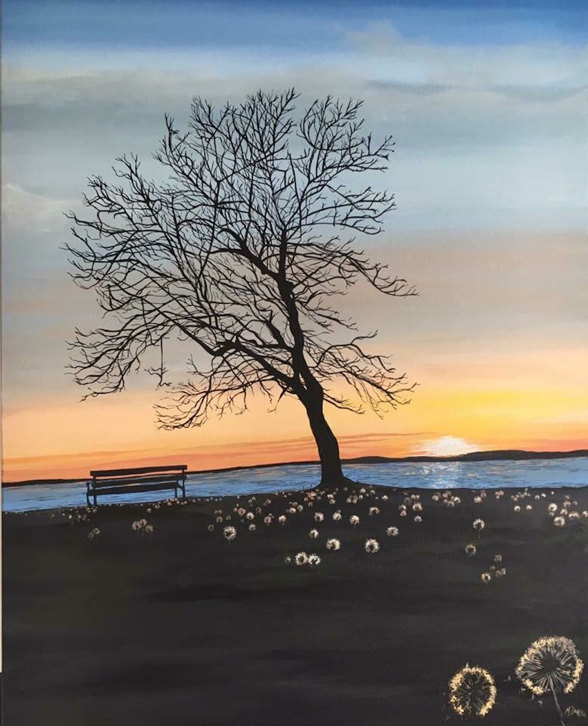Irish Art Questions and Answers with Artist Michelle Duffy of Camlake Canvas