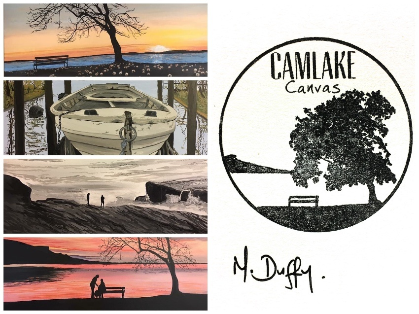 Irish Art - Questions and Answers with Artist Michelle Duffy of Camlake Canvas