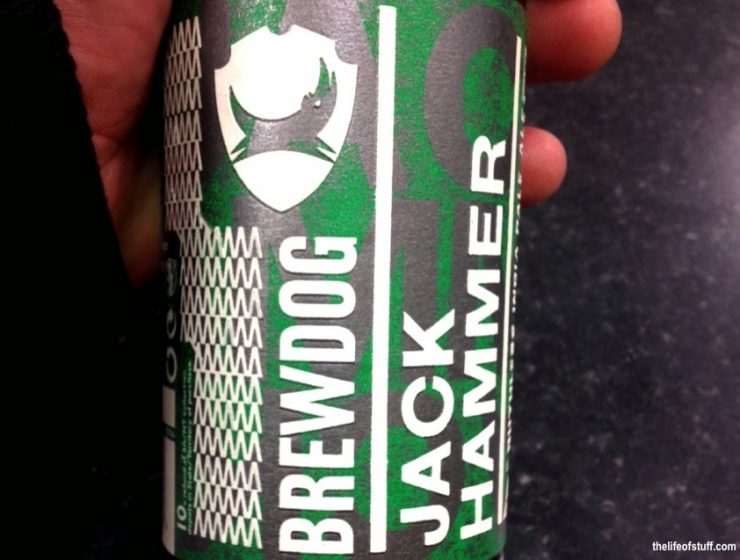 Bevvy of the Week - BrewDog, Jack Hammer, Ruthless India Pale Ale