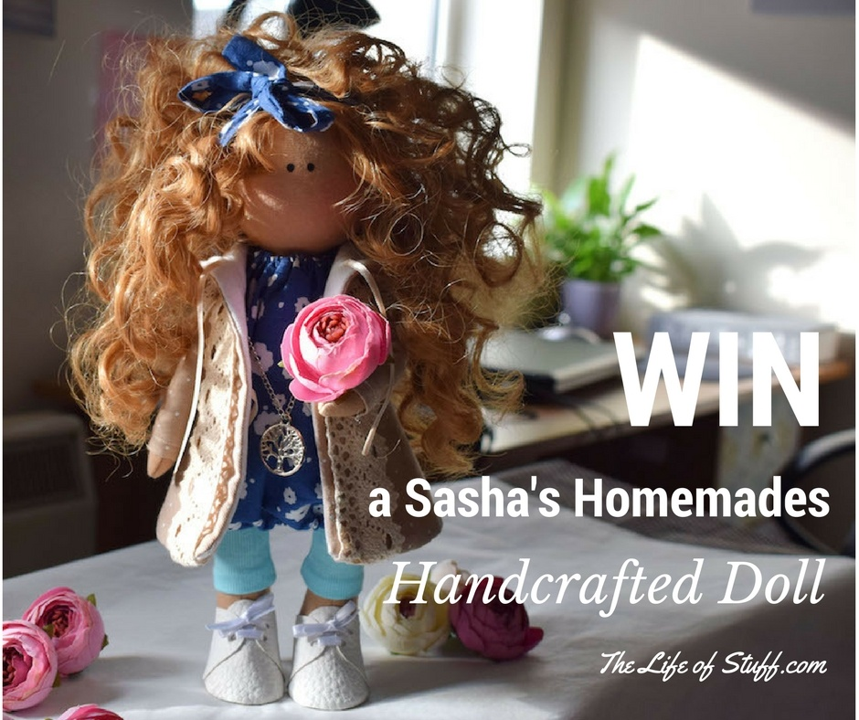 Win a Beautiful Handmade Doll from Irish Based Crafter 'Sasha's Handmades'