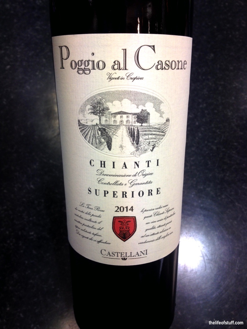 Bevvy of the Week - Poggio al Casone Chianti Superiore