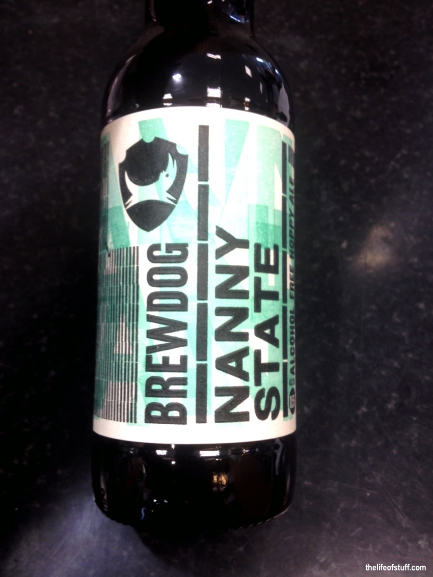 Bevvy of the Week - Brewdog, Nanny State - Alcohol Free Hoppy Ale