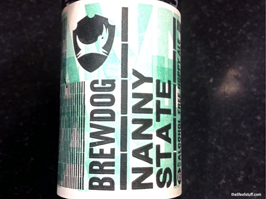 Bevvy of the Week - Brewdog, Nanny State - Alcohol Free Hoppy Ale