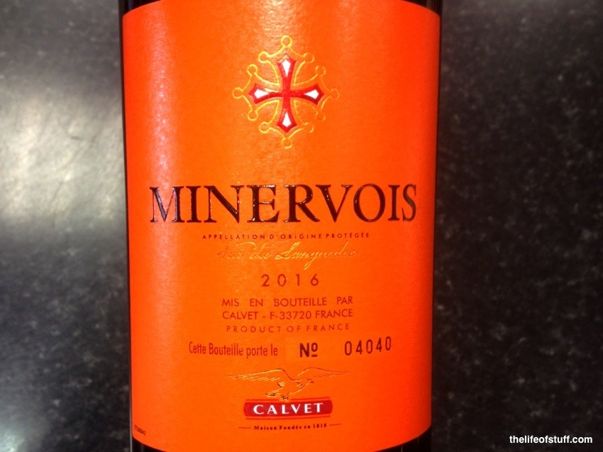 Bevvy of the Week - A French Red Wine: Minervois by Calvet