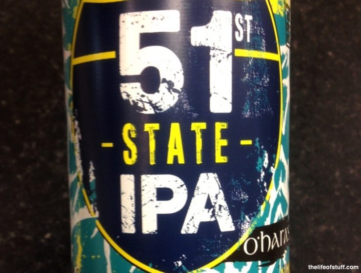 Bevvy of the Week - Carlow Brewing Company, O'Hara's 51st State IPA