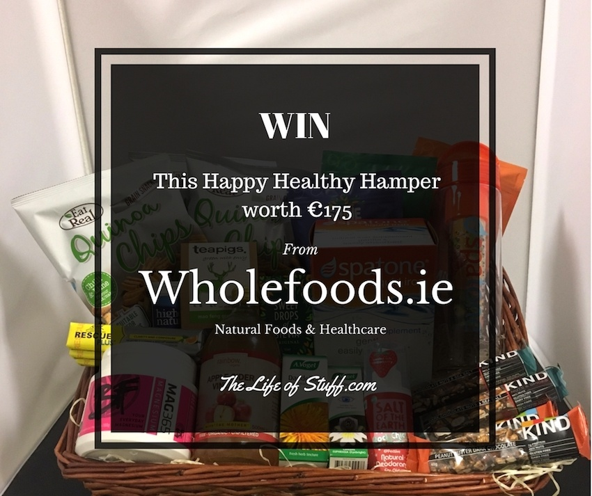 Win this Happy Healthy Hamper worth €175 from Wholefoods.ie