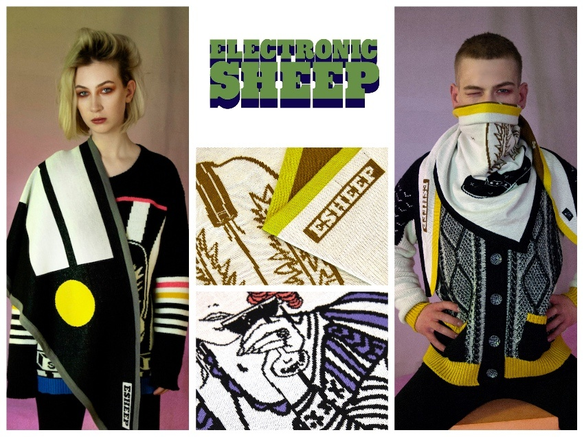 Irish Fashion Design Q&A with Brenda and Helen of Electronic Sheep