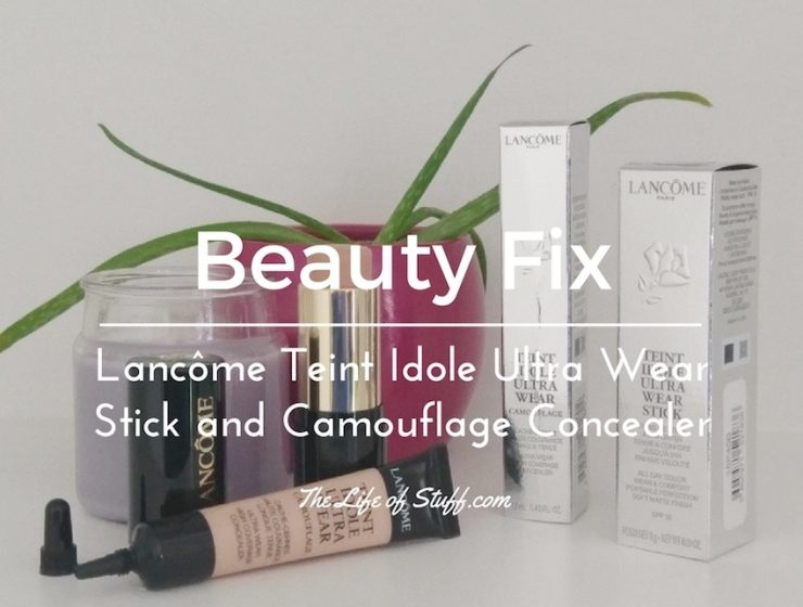 Beauty Fix – Lancome Teint Idole Ultra Wear Stick and Camouflage Concealer