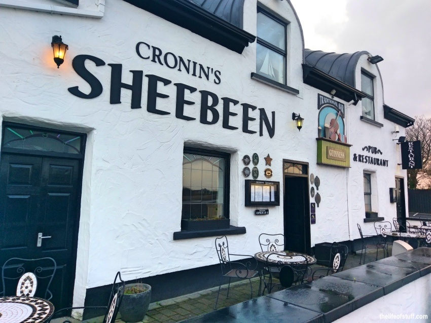 Comforting Irish Food at Cronin's Sheebeen, Rosbeg, Westport, Mayo, Ireland