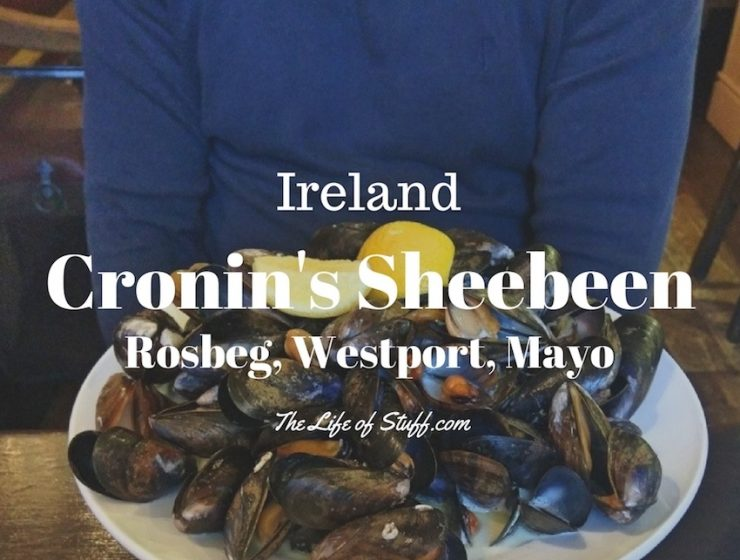 Comforting Irish Food at Cronin's Sheebeen, Rosbeg, Westport, Mayo