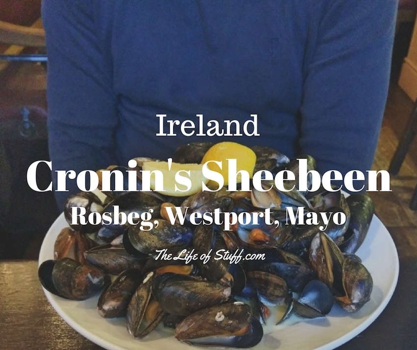 Comforting Irish Food at Cronin's Sheebeen, Rosbeg, Westport, Mayo