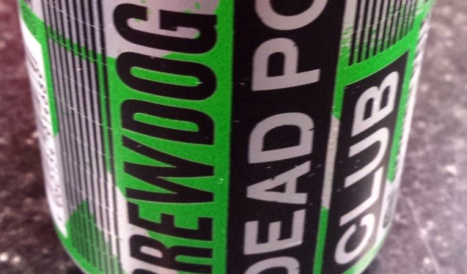 Bevvy of the Week - Brewdog Dead Pony Club Pale Ale
