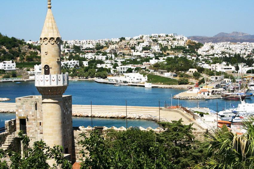 Exploring Turkey's Coast and its Islands in the Aegean Sea - Bodrum Castle