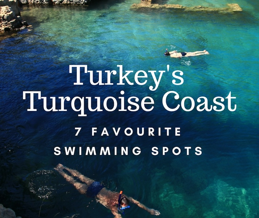 Favourite Swimming Spots of Turkey's Turquoise Coast