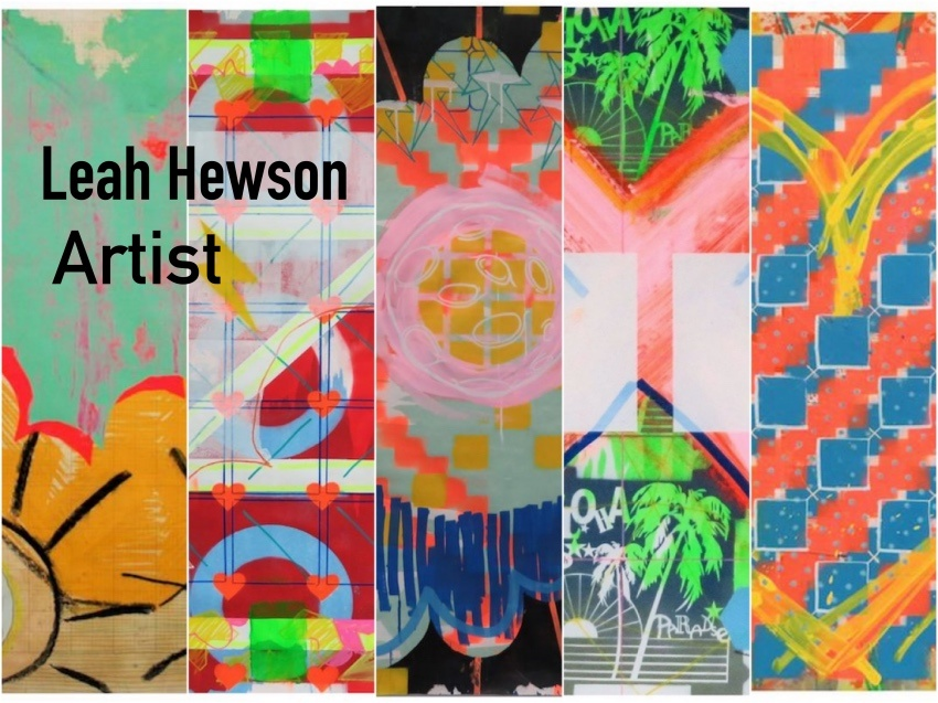 Irish Art - Questions and Answers with Contemporary Artist Leah Hewson - The Life of Stuff