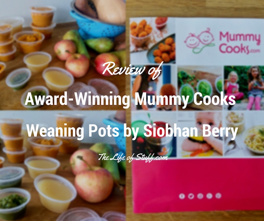 Review of Award-Winning Mummy Cooks Weaning Pots by Siobhan Berry - The Life of Stuff