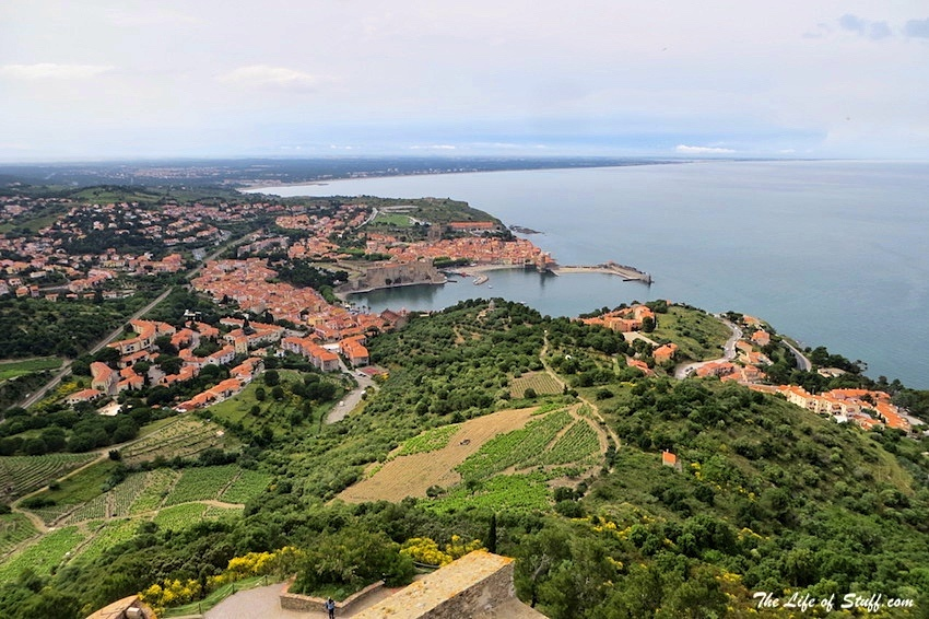 Five Fabulous Reasons to Visit Collioure, South of France - View from the Fort St Elmo