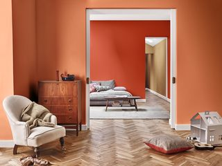 introducing the dulux colour of the year 2019 39 spiced honey 39. Black Bedroom Furniture Sets. Home Design Ideas