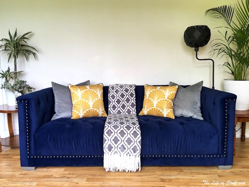 Homestyle How To Style Your Sofa With Cushions Amp Throws