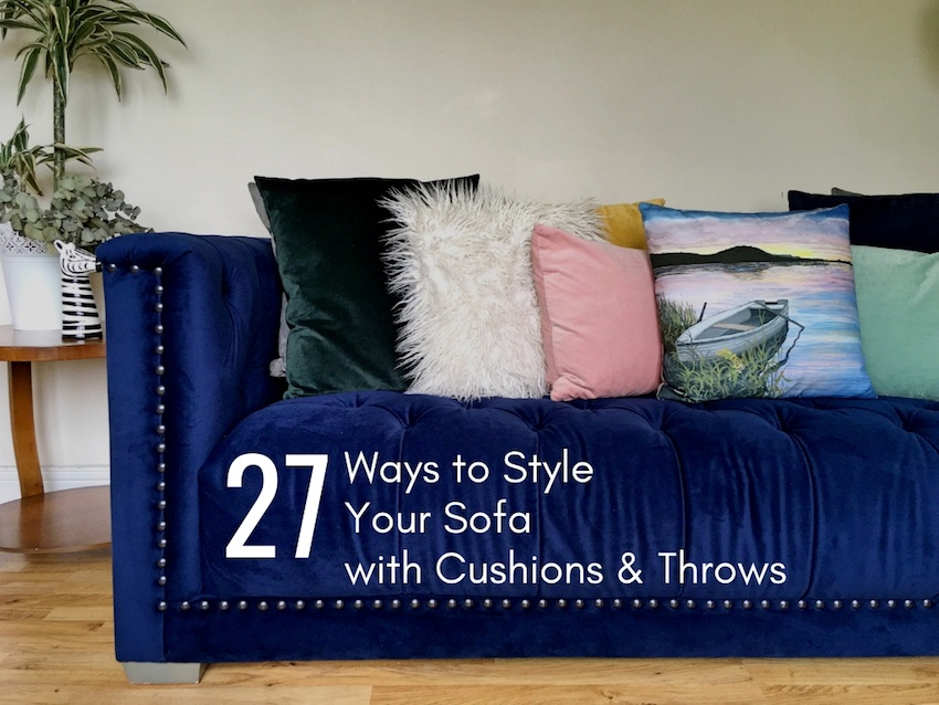 Amazing Homestyle How To Style Your Sofa With Cushions Throws Pdpeps Interior Chair Design Pdpepsorg
