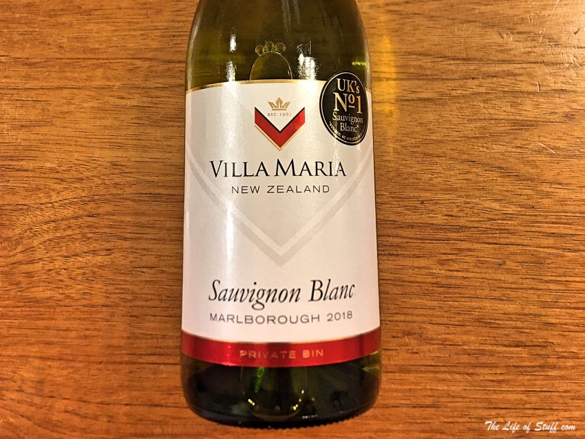 Bevvy of the Week - New Zealand Villa Maria Sauvignon Blanc - The Life of Stuff