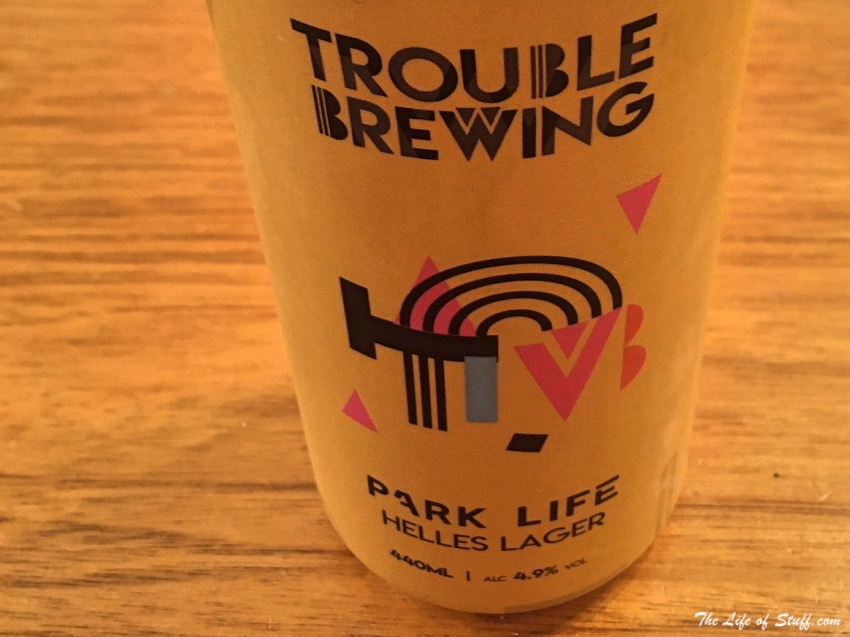 The Life of Stuff Bevvy of the Week Trouble Brewing Park Life