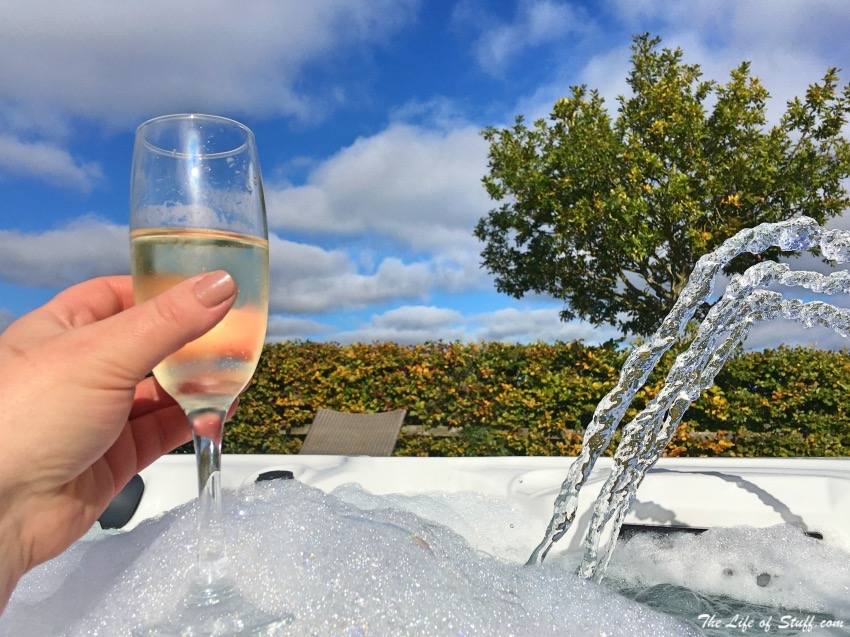A Heavenly Afternoon Pamper at Revive Garden Spa Athy, Kildare - Prosecco and Jacuzzi