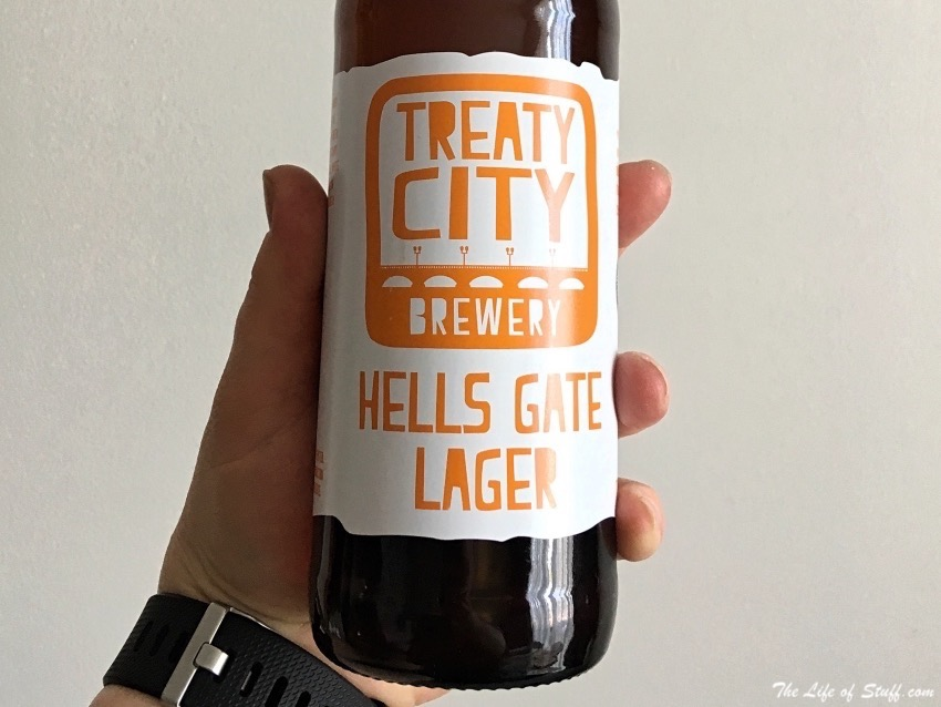 Bevvy of the Week - Treaty City Brewery, Hells Gate Lager - Bottle